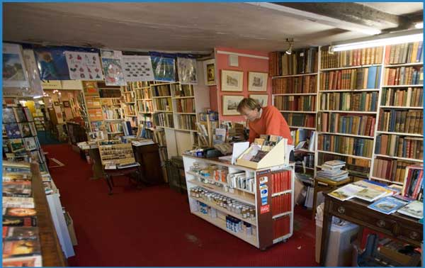 Laurence Oxley Bookshop Paintings Birket Foster Pictures
